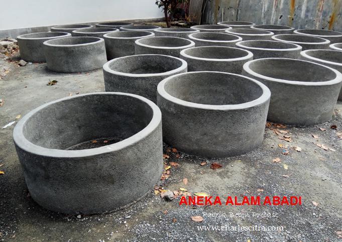 buis beton sebagai wadah tanam