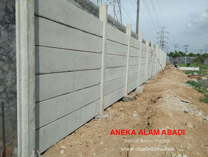 pagar beton panel