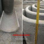 buis beton setengah lingkaran