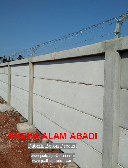 pagar beton bogor